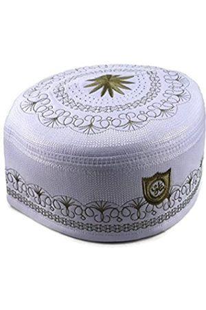 Alwee Herren Hüte - Alw005 Muslimische Gebetsmütze für Herren, Islam Kufi Kopfbedeckung, Totenkopf-Mütze