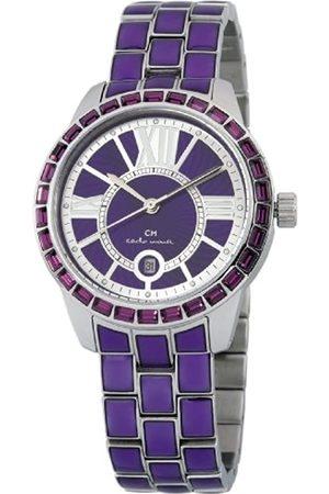 Carlo Monti Damen Uhren - Damen-Armbanduhr Cosenza Analog Quarz Edelstahl CMZ01-190