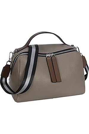 Iswee Damen Handtasche, Umhängetasche, Umhängetasche, Einkaufstasche