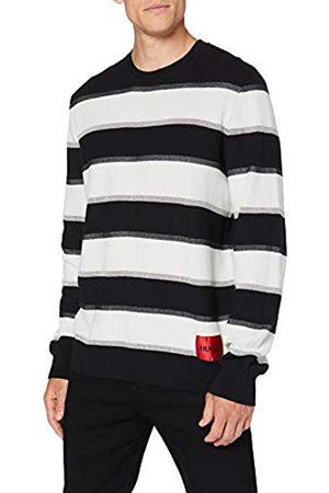 HUGO BOSS Herren Strickpullover - Herren Sweater Sanor