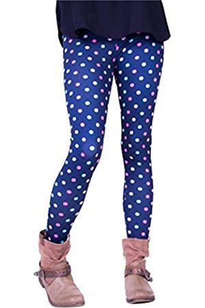 cosey Damen Leggings & Treggings - Bedruckte Bunte Leggins (Einheitsgröße) Verschiedene Leggings Designs, Colorful Dots