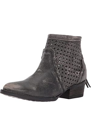 Very Volatile Women's Namaste Ankle Bootie, Charcoal