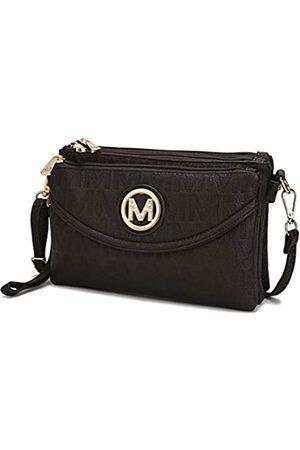 MKF Collection Damen Umhängetaschen - 3in1 Tasche Crossbody - Armband - Gürteltasche - Verstellbarer Gurt für Frauen