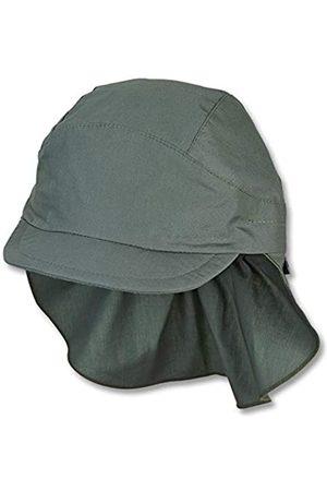 Sterntaler Hüte - Unisex Baby Schirmmütze M. Nackenschutz 1531430 Winter Hut, Dunkelgrün