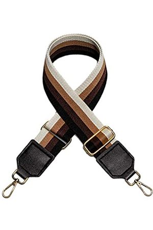 AGAPASS Damen Umhängetaschen - Wide Purse Strap Bag Strap Replacement Crossbody Handbag Totebag Stripe Adjustable Bag Belt (5cm wide)