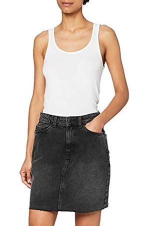 VERO MODA Damen High Waist Jeans - Female Jeansrock High Waist XLBlack