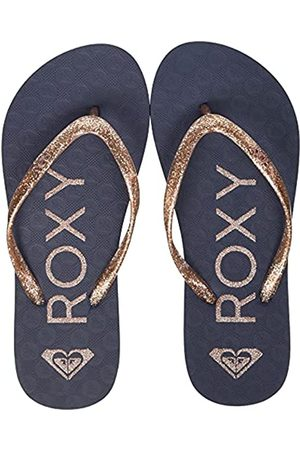 Roxy Rg Viva Sparkle sandal for Girls Flip-Flop, TRUE NAVY/