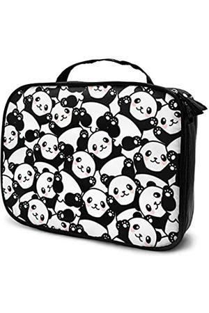 LOKIDVE Damen Reisetaschen - Kosmetiktasche für Damen, süßer Pandas, Reise-Kosmetiktasche