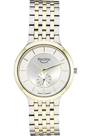 Soehnle Damen Uhren - Bruno Söhnle Damen Analog Quarz Uhr mit Edelstahl Armband 17-23136-242