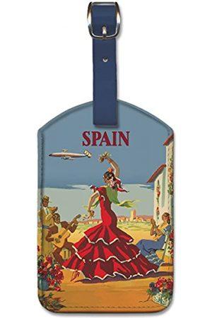 Pacifica Island Art Reisetaschen - Gepäckanhänger aus Kunstleder – Spanien