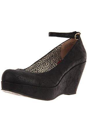 BC Footwear Damen Sure Thing Distressed Pump, ( (Used))