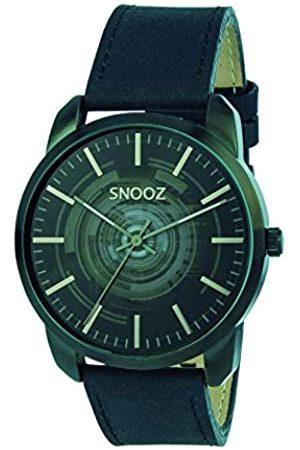 Snooz Herren Uhren - HerrenAnalogQuarzUhrmitLederArmbandSaa1044-62