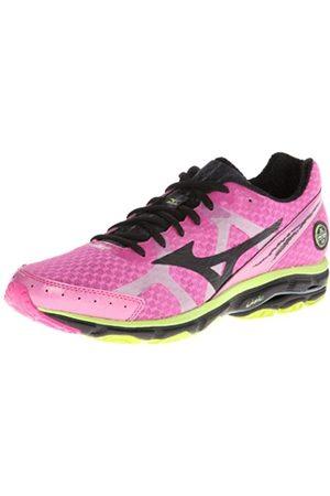 Mizuno Herren Schuhe - Wave Rider 17 Laufschuh für Herren, Pink (Rose)
