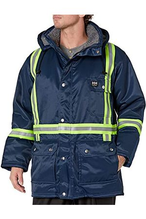 Helly Hansen Workwear Herren Weyburn Warnschutz-Parka, Marineblau