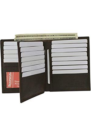 Marshal Herren Laptop- & Aktentaschen - Bifold Geldbörse aus echtem Leder, RFID-blockierend, für Herren, Kartenfächer, 2 Geldscheinfächer, Ausweisfenster, Geld
