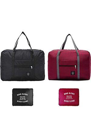 DEMON CHEST Faltbare Reisetasche, Sporttaschen, Schultertasche, Einkaufstasche, Gepäcktasche