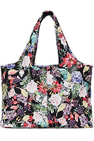 ZOOEASS Bunte große Handtasche für Damen, wasserdichte Tragetasche, multifunktional, Nylon