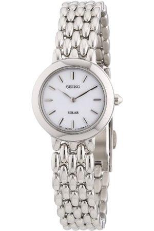 Seiko Damen Uhren - Lorus Damen Analog Quarz Uhr mit Leder Armband RG228NX9