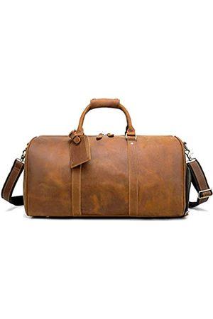 CPJ CHAO .P.J Vintage Crazy Horse Leder Herren Reisetasche Gepäck Weekender Tasche