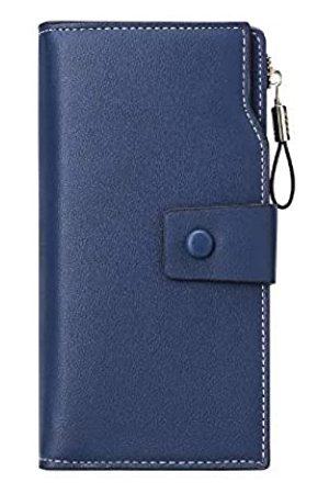 korejoli Herren Handtaschen - Geldbörse aus PU-Leder mit RFID-blockierender Kreditkarte.