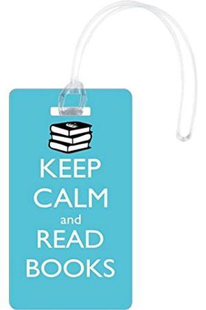 Rikki Knight LLC Rikki Knight Flexi Keep Calm and Read Books - RK-2xTagflex-46125