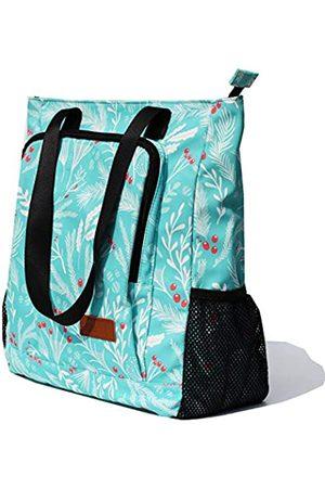 ESVAN Große Reisetasche, wasserabweisend, Schultertasche, leicht, für Männer und Frauen, Unisex, (Ilex Frucht 1)