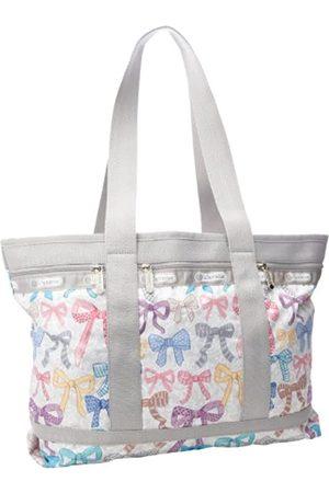 LeSportsac Damen Reisetaschen - Transporttasche, mittelgroß, Beige (Bows)