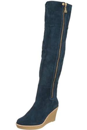 Daniblack Savannah Overknee-Stiefel für Damen, (Arctic Navy)