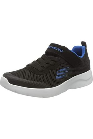 Skechers Dynamight 2.0 Vordix Sneaker, (Black & Royal Textile & Trim Bkry)