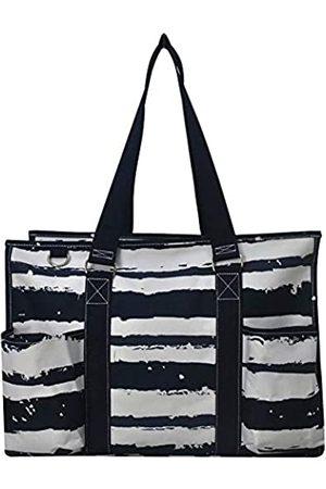 NGIL Damen Reisetaschen - Allzweck-Organizer 45,7 cm groß Utility Tote Bag 2020 Collection, Blau (Sandy Stripe Marineblau)