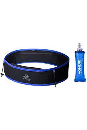 AONIJIE Sporttaschen - Lauftasche Gürteltasche Gürteltasche Workout-Gürtel Sport Hüfttasche mit 250 ml weicher Wasserflasche für Laufen, Wandern, Radfahren