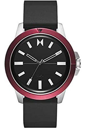MVMT Herren Uhren - HerrenAnalogQuarzUhrmitSiliconeArmband28000073-D