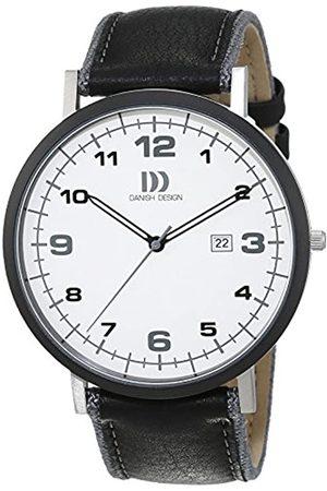Danish Design Herren Uhren - Herren-Armbanduhr Analog Quarz Leder 3314479