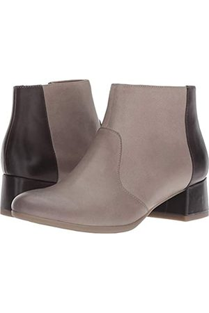 Dansko Damen Stiefeletten - Women's Petra Boot Stone Burnished Nubuck Size 38 Regular EU