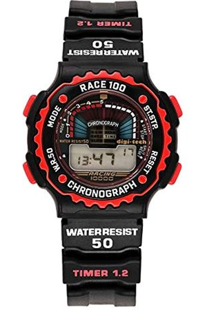Digi-Tech Herren-Armbanduhr Chrono Race Digital Quarz Kautschuk DT102914