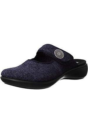 Romika Damen Hausschuhe - Damen Ibiza Home 330 Pantoffeln, (Marine 520 520)