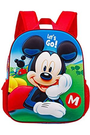 KARACTERMANIA Micky Maus Let's Go-Kleiner 3D Rucksack
