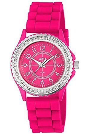 Watx Analog Quarz Uhr mit Gummi Armband RWA9011