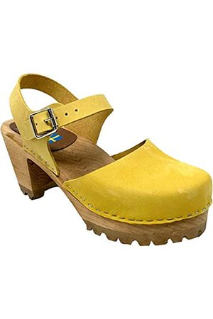 Mia Damen Clogs & Pantoletten - Damen Abba Clogs inspirierte Sandalen ( , Größe M)
