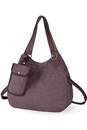 IDAILU Hobo Schulter-Handtasche aus Segeltuch mit mehreren Taschen für Damen Shopper Geldbörse mit Schultergurt