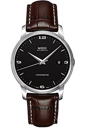 MIDO Herren Uhren - Herren Analog Automatik Uhr mit Edelstahl Armband M0104081605110