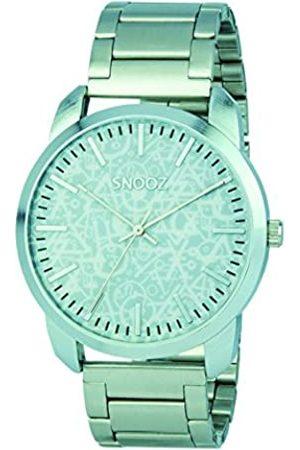 Snooz Herren Uhren - HerrenAnalogQuarzUhrmitEdelstahlArmbandSaa0043-63