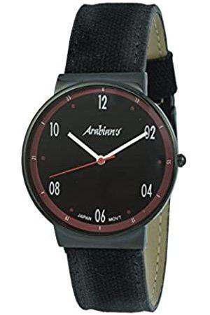 Arabians Damen Uhren - DamenAnalogQuarzUhrmitStoffArmbandDNA2238NR