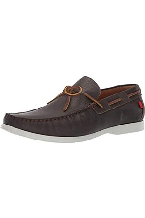 Marc Joseph New York Herren Leder Made in Brazil St. Marks Driving Style Loafer, (Café Washed Nappa)