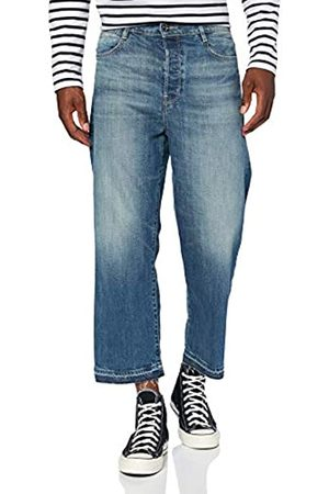 G-Star Damen Straight Jeans Tedie Ultra High Waist Straight Ripped Ankle C