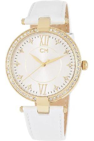 Carlo Monti Armbanduhr für Damen mit Analog Anzeige, Quarz-Uhr und Lederarmband - Wasserdichte Damenuhr mit zeitlosem, schickem Design - klassische