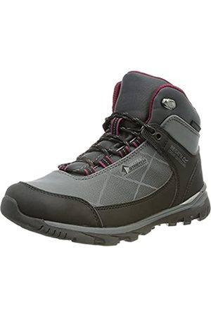 Regatta Damen Outdoorschuhe - Damen LdyHightonSTR Mid Walking Shoe, Briar/Purple