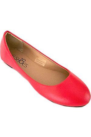 Shoes8teen Damen Ballerinas - Ballerina Ballett Flache Schuhe Für Damen 7 M US