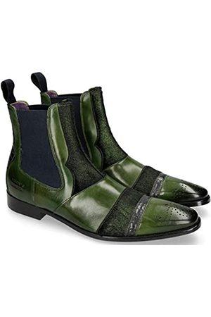 Melvin & Hamilton Herren Elvis 12 Chelsea Boots, Mehrfarbig (Crust/Wellington/Hairon Breeze/Ultra Green (1,4,5,7) / Lead (2,8) / Verde (3,5) / Ela Navy/LS Blk.)