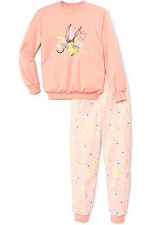 CALIDA Mädchen Mädchen Kurz-Pyjama Girls Elephant